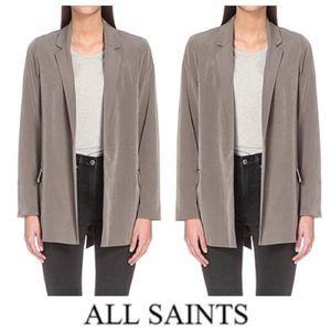 NWOT Satin Ladies Blazer Coat
